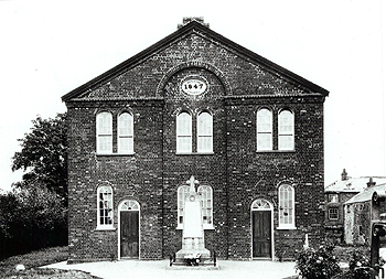 The Wesleyan Chapel about 1910 [Z883/7]